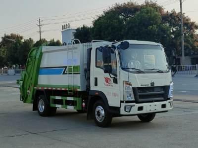 HNY5090ZYSZ6压缩式垃圾车