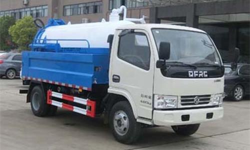 HLQ5040GQWE5清洗吸污车